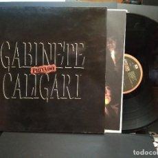 Disques de vinyle: GABINETE CALIGARI - PRIVADO - EMI 1989 ,GATEFOLD LP SPAIN PEPETO. Lote 241535650