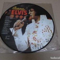 Discos de vinilo: ELVIS PRESLEY (LP) PICTURES OF ELVIS I AÑO 1984 – EDICION DINAMARCA - PICTURE DISC. Lote 241550960
