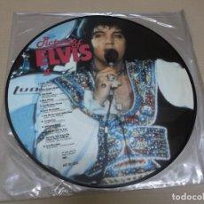 Discos de vinilo: ELVIS PRESLEY (LP) PICTURES OF ELVIS II AÑO 1984 – EDICION DINAMARCA - PICTURE DISC. Lote 241551100