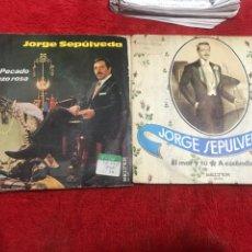 Discos de vinilo: JORGE SEPULVEDA 2POR1 A 6€ VER DESCRIPCION .. Lote 241555055