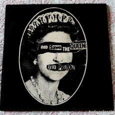 Dischi in vinile: SEX PISTOLS - GOD SAVE THE QUEEN - VIRGIN 1977 - SPAIN. Lote 241647825