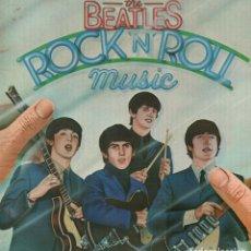 Disques de vinyle: THE BEATLES - ROCK N ROLL MUSIC / DOBLE LP EMI DE 1976 / MUY BUEN ESTADO RF-9158. Lote 241659365