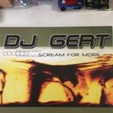 Dischi in vinile: DJ GERT-SCREAM FOR MORE-2 LP-2002-EXCELENTE ESTADO. Lote 241665020