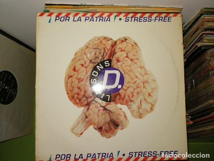 DISCO VINILO. STRESS FREE-¡POR LA PATRIA! (Música - Discos de Vinilo - Maxi Singles - Techno, Trance y House)