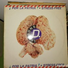 Discos de vinilo: DISCO VINILO. STRESS FREE-¡POR LA PATRIA!. Lote 241668780