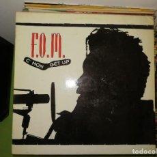 Discos de vinilo: DISCO VINILO. F.O.M. C'MON GET UP. Lote 241671015