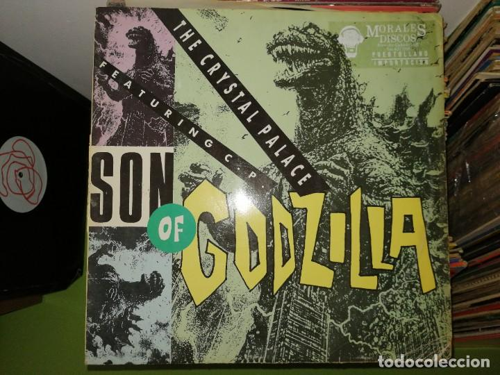 DOS DISCOS.A NEW KIND OF SOUND GENERATED FROM OUR NVROTIC MIND Y THE CRISTAL PALACE SON OF GODZILLA (Música - Discos de Vinilo - Maxi Singles - Techno, Trance y House)