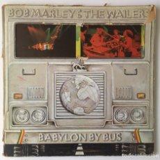 Discos de vinilo: BOB MARLEY & THE WAILERS. BABYLON BUS. ISLAND, 1979. 2 LP'S. Lote 241678885