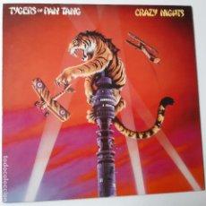 Disques de vinyle: TYGERS OF PAN TANG- CRAZY NIGHTS - GERMAN LP 1981- COMO NUEVO.. Lote 241696885