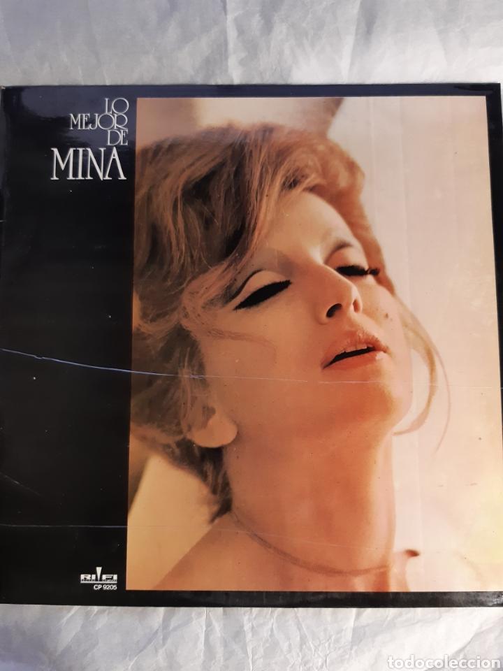 LP LO MEJOR DE MINA (NUEVO) (Música - Discos - LP Vinilo - Canción Francesa e Italiana)