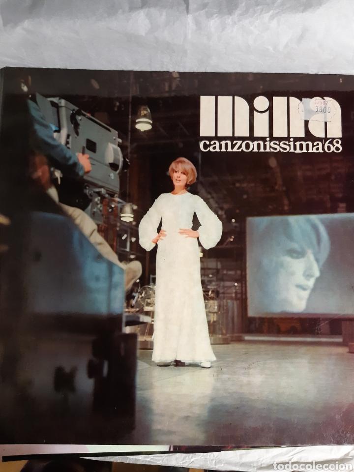 Discos de vinilo: 3 LP MINA CANZONISSIMA 68, FRUTTA E VERDURA, AMOR MIO - Foto 2 - 241714195