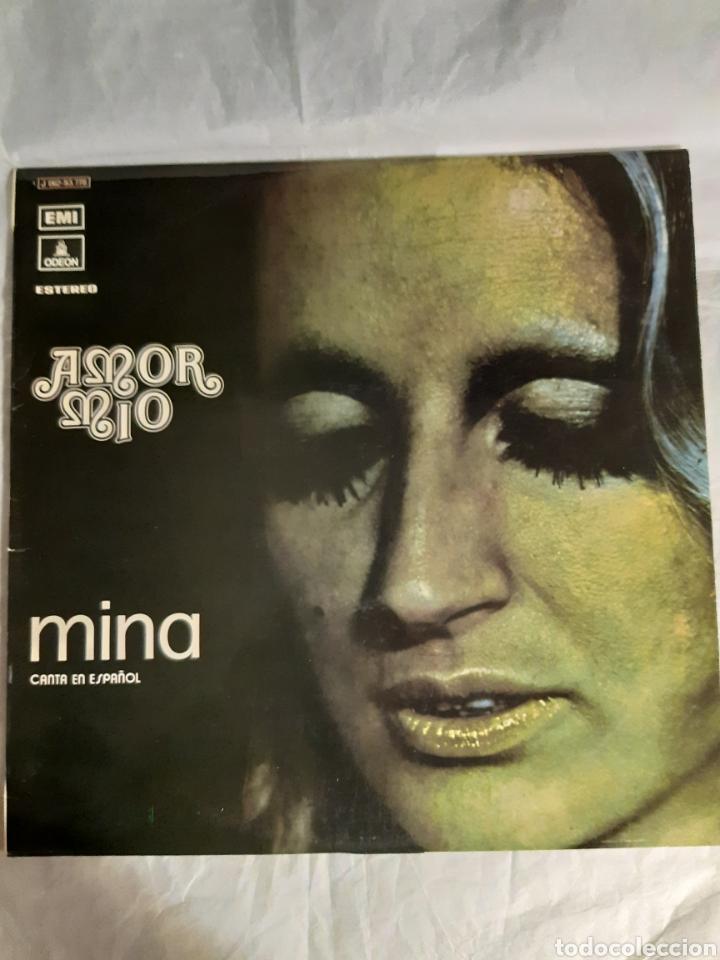 Discos de vinilo: 3 LP MINA CANZONISSIMA 68, FRUTTA E VERDURA, AMOR MIO - Foto 4 - 241714195