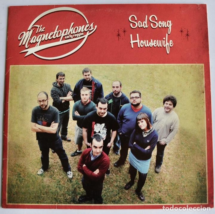 THE MAGNETOPHONES. EARLY REGGAE. SAD SONG. HOUSEWIFE. REBEL SPELL. SKÁNDALO EN LAS ONDAS (Música - Discos de Vinilo - EPs - Reggae - Ska)