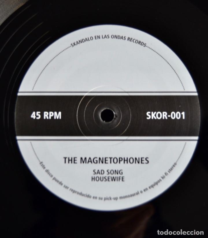 Discos de vinilo: The Magnetophones. Early Reggae. Sad Song. Housewife. Rebel Spell. Skándalo en las Ondas - Foto 4 - 241746715