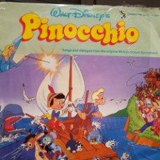 Discos de vinilo: B.S.O. PINOCHO (PINOCCHIO). Lote 241766205