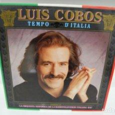 Discos de vinilo: LUIS COBOS, TEMPO D'ITALIA.. Lote 241784405