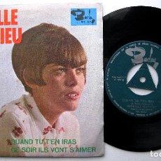 Discos de vinilo: MIREILLE MATHIEU - QUAND TU T'EN IRAS - SINGLE BARCLAY 1967 BPY. Lote 241784970