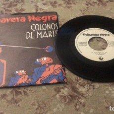 """Disques de vinyle: PRIMAVERA NEGRA VINILOS 7"""". Lote 241788695"""
