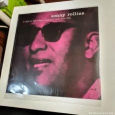 Disques de vinyle: SONNY ROLLINS - A NIGHT AT THE 'VILLAGE VANGUARD, NUEVO SIN ESTRENAR PRECINTO ORIGINAL .. Lote 241790455