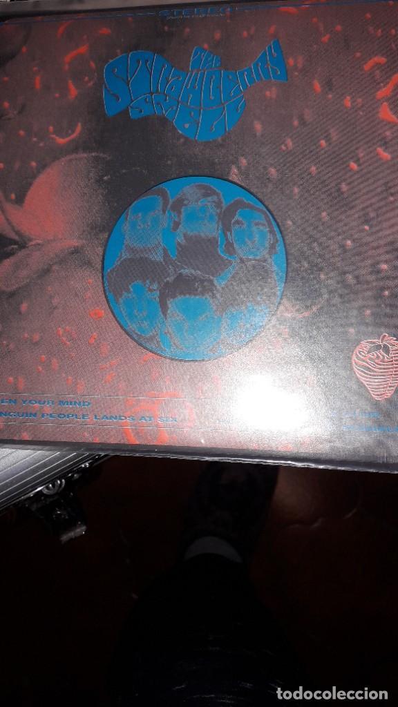 """E.P. 7"""" 45 RPM - THE STRAWBERRY SMELL - OPEN YOUR MIND + 3 (NEO GARAGE PSYCH 1993) (Música - Discos de Vinilo - EPs - Pop - Rock Internacional de los 90 a la actualidad)"""