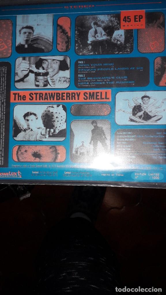 "Discos de vinilo: E.P. 7"" 45 RPM - THE STRAWBERRY SMELL - OPEN YOUR MIND + 3 (NEO GARAGE PSYCH 1993) - Foto 2 - 241791195"