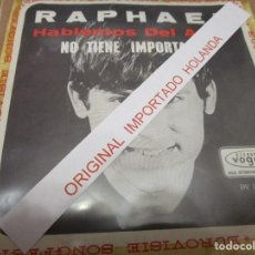 Discos de vinilo: RAPHAEL ( HOLANDA ) HABLEMOS DEL AMOR ( VER DESCRIPCION ). Lote 241791825