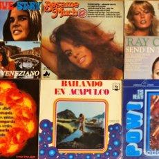 Discos de vinilo: LOTE 7 LP'S ORQUESTAS, DIRESA, NEVADA, PALOBAL. Lote 241793525