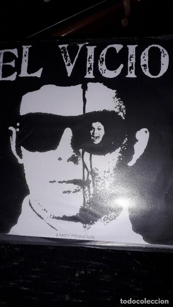 """E.P. 7"""" 45 RPM - EL VICIO - TIME TO EAT BRAINS + 3 (NASTY PRODUCT, FRANCE, 2006) (Música - Discos de Vinilo - EPs - Pop - Rock Internacional de los 90 a la actualidad)"""