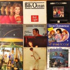 Discos de vinilo: LOTE 10 LP'S POP ROCK INTERNACIONAL VARIADO, ABBA, BILLY OCEAN, CARLY SIMON. Lote 241794480