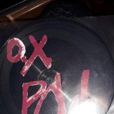 """Discos de vinilo: E.P. 7"""" 45 RPM PICTURE DISC - OX POW - """"POW-1""""//""""ESPERANDO..."""", """"MANOS ARRIBA"""" (PUNK MUNSTER REP.). Lote 241794530"""