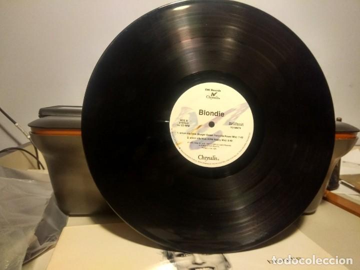Discos de vinilo: DOBLE MAXI BLONDIE : UNION CITY BLUE ( 7 TRACKS ) - Foto 5 - 42421015