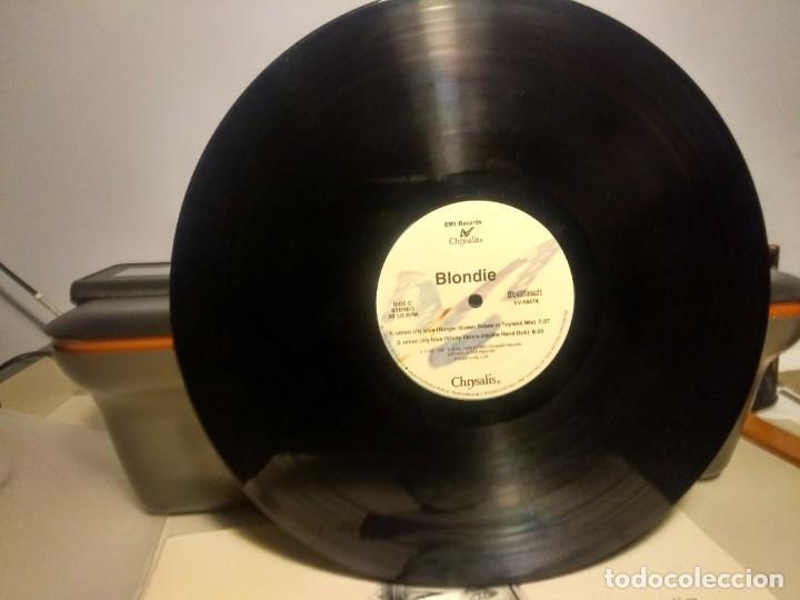 Discos de vinilo: DOBLE MAXI BLONDIE : UNION CITY BLUE ( 7 TRACKS ) - Foto 6 - 42421015