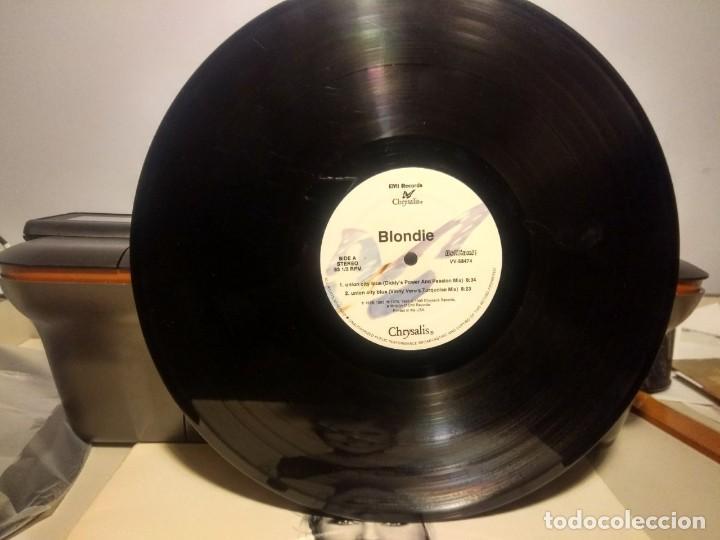 Discos de vinilo: DOBLE MAXI BLONDIE : UNION CITY BLUE ( 7 TRACKS ) - Foto 8 - 42421015