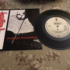 """Discos de vinilo: FASTER PUSSYCAT, VINILO 7"""" (NON STOP TO NO WHERE). Lote 241804605"""