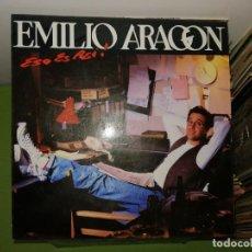 Discos de vinilo: DOS DISCOS. EMILIO ARAGON ESO ES ASI Y TOP TEN CLUB, 2 DISCOS. Lote 241808270