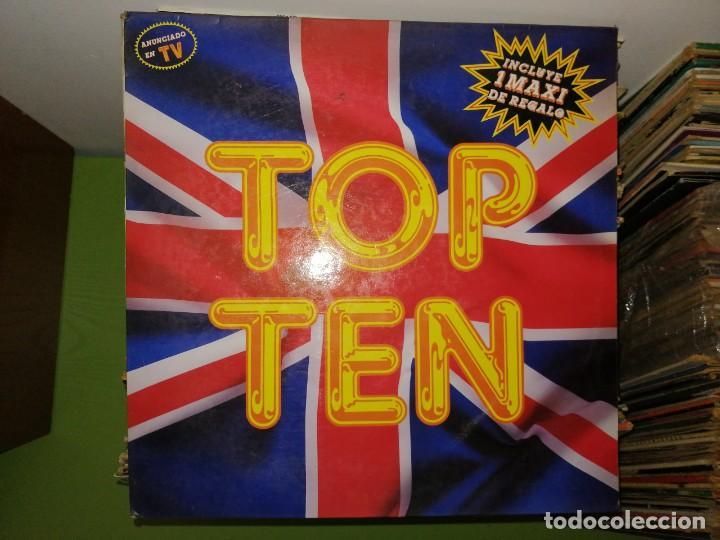 Discos de vinilo: Dos discos. EMILIO ARAGON ESO ES ASI Y TOP TEN CLUB, 2 DISCOS - Foto 4 - 241808270