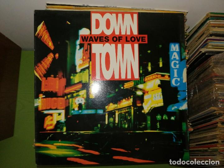 Discos de vinilo: Lote 2 discos. DSK WHAT WOULD WE DO Y DOWN TOWN WAVES OF LOVE - Foto 3 - 241808660