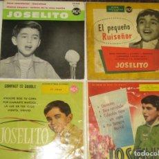 Discos de vinilo: JOSELITO - LOTE DE 4 EPS - UNO ED. FRANCESA. Lote 241809460