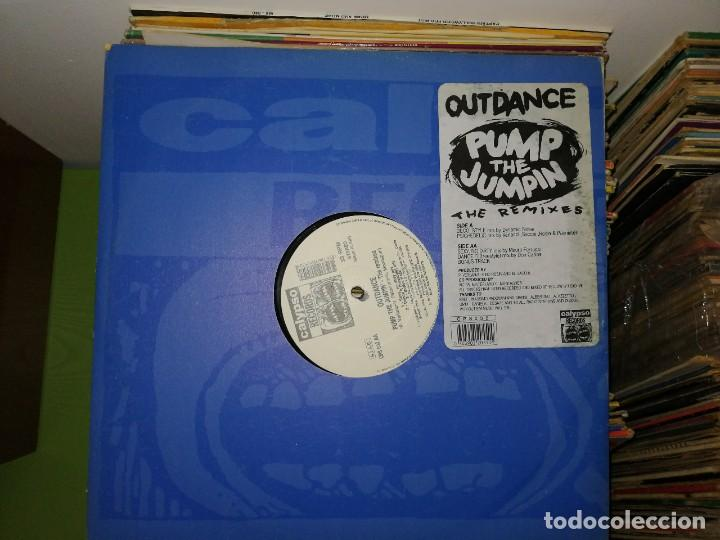 LOTE 2 DISCOS. OUTDANCE PUMP THE JUMPIN' (THE REMIXES) Y OOH LALALA - LUCKY NINETYS (Música - Discos de Vinilo - Maxi Singles - Techno, Trance y House)