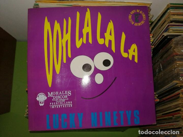 Discos de vinilo: Lote 2 discos. Outdance Pump The Jumpin (The Remixes) Y Ooh LaLALA - Lucky Ninetys - Foto 3 - 241810215