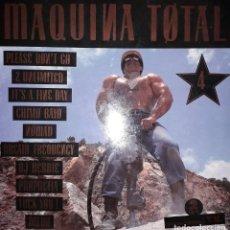 Discos de vinilo: DOBLE L.P. - MÁQUINA TOTAL 4. Lote 241827745