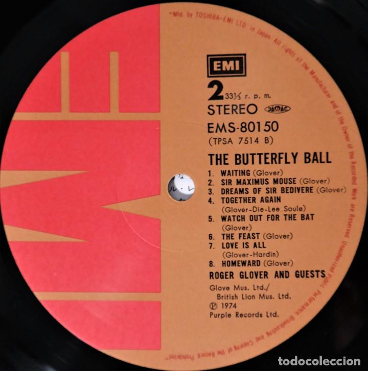 Discos de vinilo: Deep Purple / Roger Glover And Guests – The Butterfly Ball And The Grasshoppers Feast - Foto 10 - 241835160