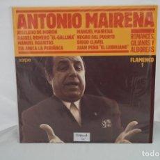 """Discos de vinilo: VINILO 12"""" - LP- FLAMENCO 1 - ANTONIO DE MAIRENA / SARPE. Lote 241842290"""