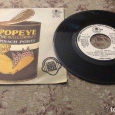 """Discos de vinilo: SPINACH POWER VINILO 7"""". Lote 241836840"""