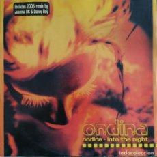 "Dischi in vinile: ONDINA - INTO THE NIGHT (12"") (BLANCO Y NEGRO). Lote 241848345"