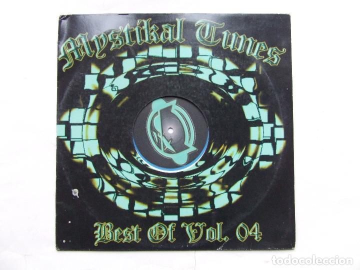 Discos de vinilo: LP VINILO AZUL MYSTIKAL TUNES BEST OF VOL. 4 DJ PRIME DJ MONTANA HIP HOP SOLO PARA DJs - Foto 2 - 241853435