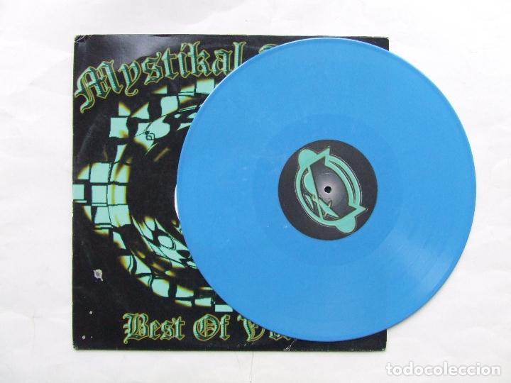 Discos de vinilo: LP VINILO AZUL MYSTIKAL TUNES BEST OF VOL. 4 DJ PRIME DJ MONTANA HIP HOP SOLO PARA DJs - Foto 4 - 241853435