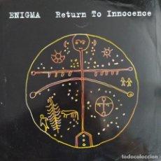 "Dischi in vinile: ENIGMA - RETURN TO INNOCENCE (12"", MAXI) (1993/EU). Lote 241855835"