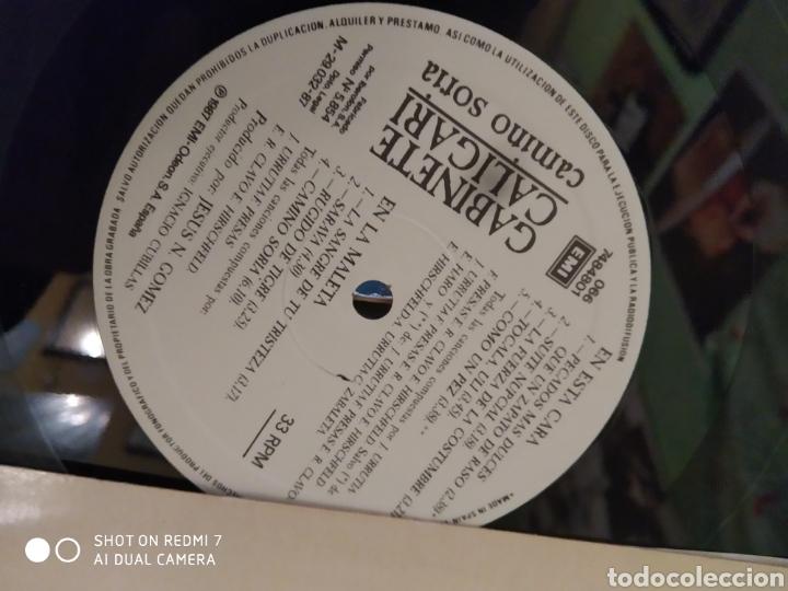 Discos de vinilo: Gabinete Caligari. Caminó Soria. LP - Foto 3 - 241861110
