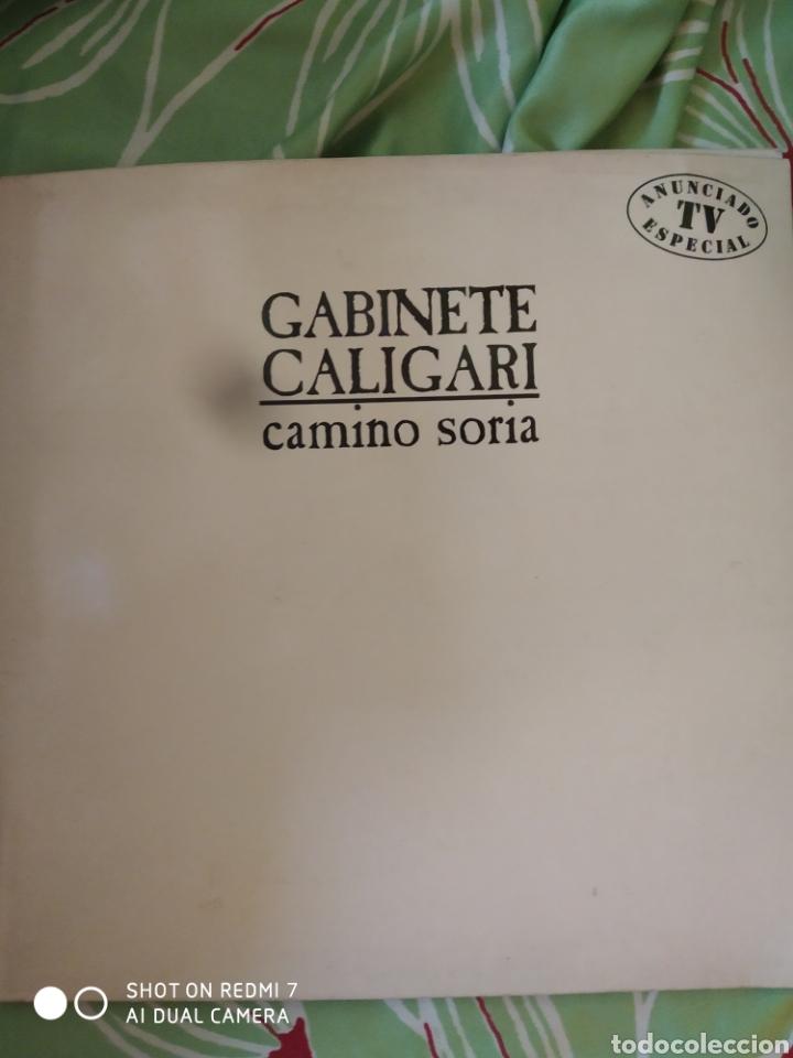 GABINETE CALIGARI. CAMINÓ SORIA. LP (Música - Discos - LP Vinilo - Rock & Roll)